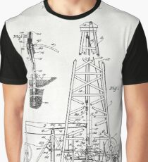 Oil rilling Rig Graphic T-Shirt