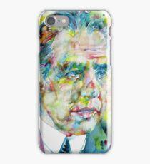 NIELS BOHR - watercolor portrait iPhone Case/Skin
