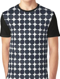 Black and White | Polka Dots Graphic T-Shirt