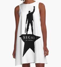 Negan Lucille mit Stern A-Linien Kleid