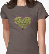 Gold Butterfly Heart T-Shirt