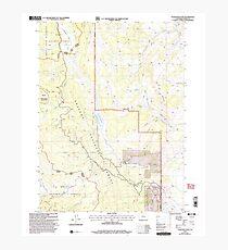 USGS TOPO Map Colorado CO Tyler Mountain 234812 2000 24000 Photographic Print
