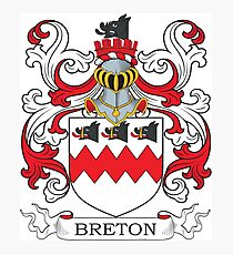 Breton Coat of Arms Photographic Print