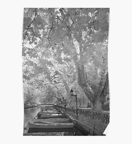 Pont des Amours, Annecy, France Poster