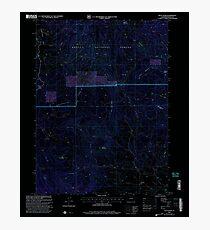 USGS TOPO Map Colorado CO Pilot Knob 234109 2000 24000 Inverted Photographic Print