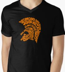 TROJAN ARTIST Men's V-Neck T-Shirt