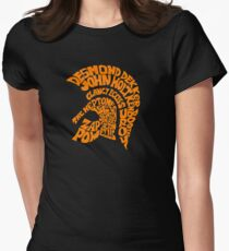 TROJAN ARTIST Women's Fitted T-Shirt