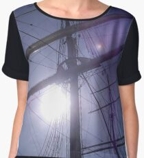 Sun through the sails Women's Chiffon Top