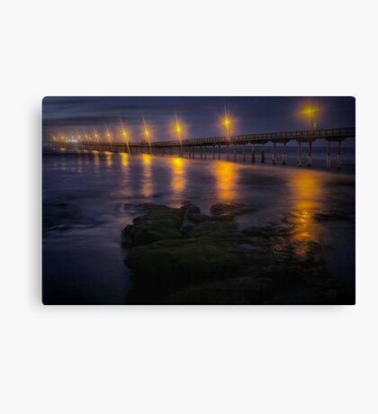 Sea Lights Canvas Print