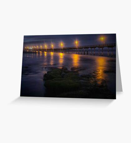 Sea Lights Greeting Card