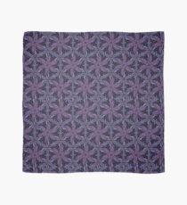 Star flowers, purple tessellation  Scarf