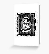 Space Pupper Greeting Card