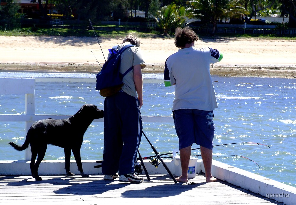 HOT_AFTERNOON_TO_FISH by gerecho