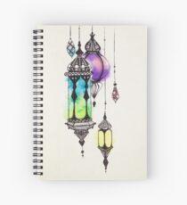 Moroccan Lanterns Spiral Notebook