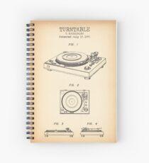 Cuaderno de espiral Placa giratoria