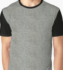 Silver Leather Skin | Texture Graphic T-Shirt
