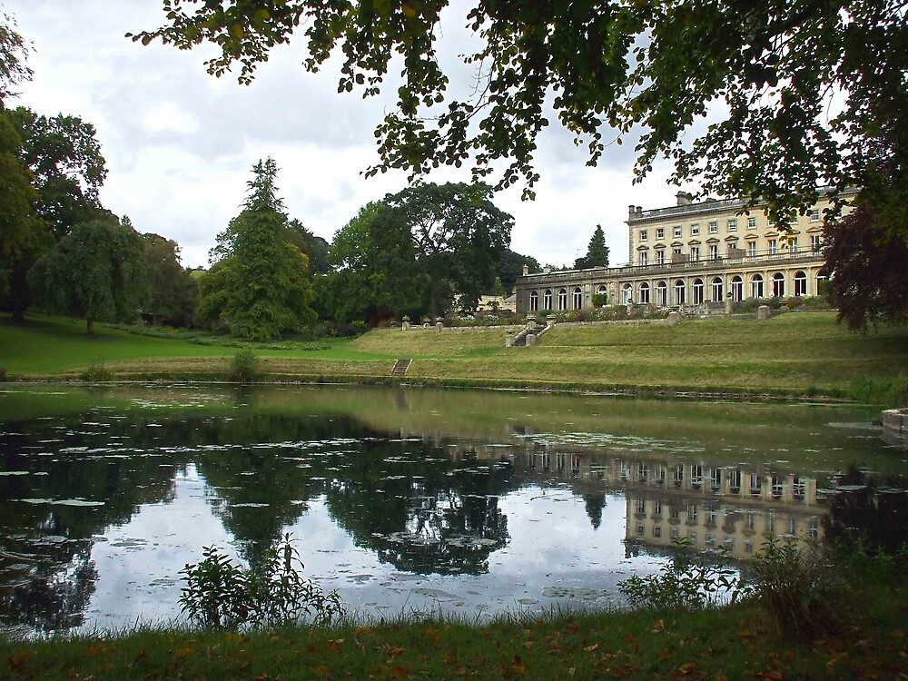 Cowley Manor House by Roger Poole