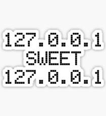 Computer Geek Home Sticker
