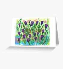 mark luban - coral fusion Greeting Card