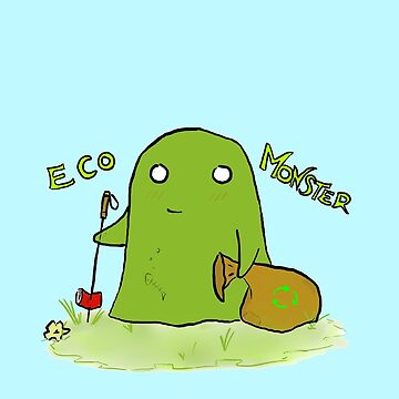 Cute eco monster by SoulWolfz