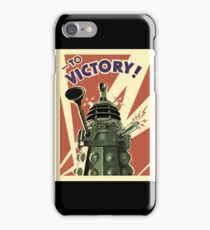 Doctor Who Dalek To Victory! iPhone Case/Skin