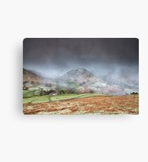 Two Valley's Snowstorm Canvas Print