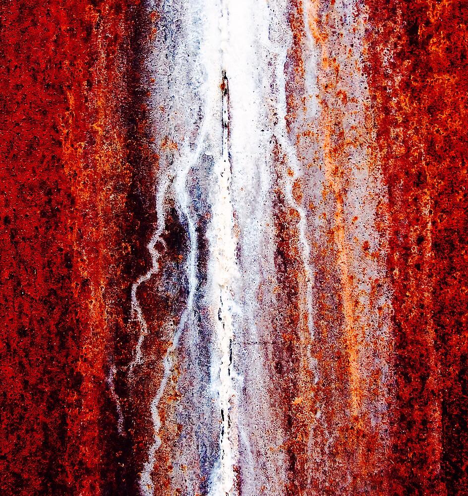 Rusty Wall by Ulf Buschmann