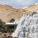 Mirage Las Vegas vector graphic by urbanphotos