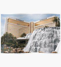 Mirage Las Vegas vector graphic Poster