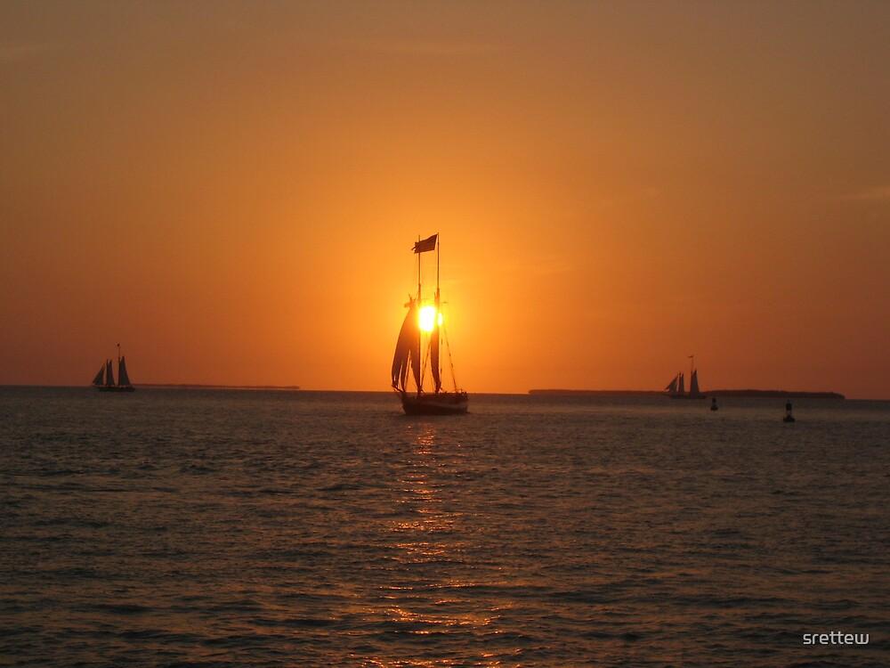 Key West Sunset by srettew