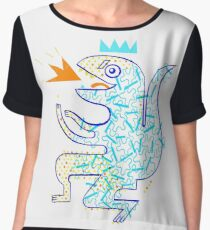 Dinosaur Arrrrr! Women's Chiffon Top