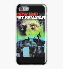 Pet Sematary iPhone Case/Skin