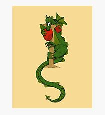 """Oscar and the Roses """"I"""" (Illustrated Alphabet) Photographic Print"""