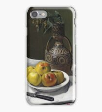 Felix Vallotton - Apples And A Moroccan Vase iPhone Case/Skin