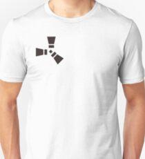 rust logo-black and white Unisex T-Shirt