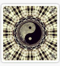Mandala YinYang Balance Life Geometry Sticker