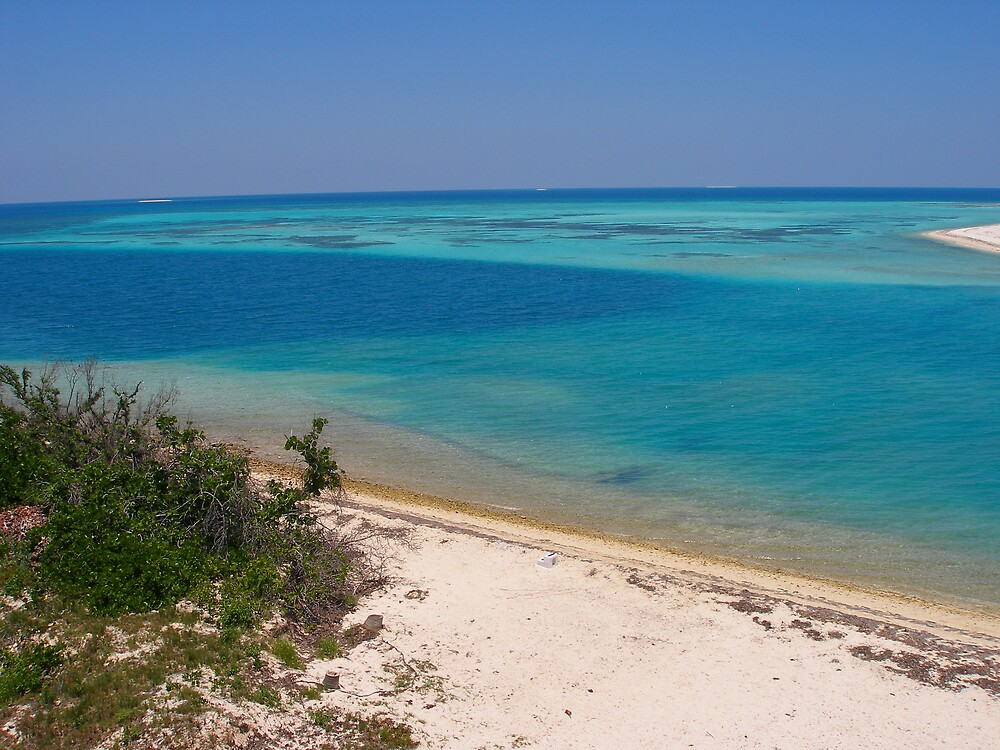 Ocean off Dry Tortugas by mbuban