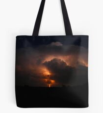 Oklahoma thunderstorm Tote Bag
