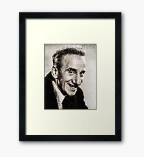 Jimmy Durante, Hollywood Legend Framed Print