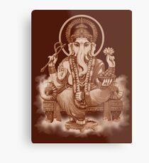 Ganesh the Remover of all obstacles Metal Print