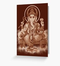 Ganesh the Remover of all obstacles Greeting Card