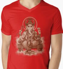 Ganesh the Remover of all obstacles Men's V-Neck T-Shirt