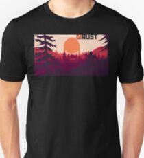 Rust background Unisex T-Shirt