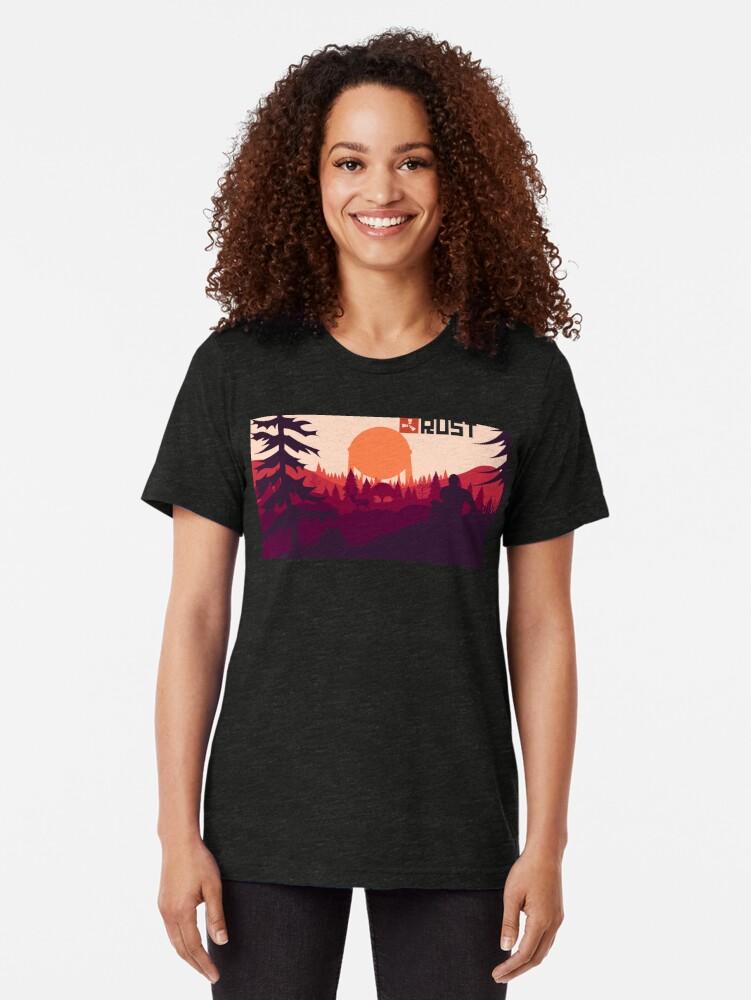 Alternative Ansicht von Rost Hintergrund Vintage T-Shirt