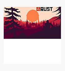 Rust background Photographic Print