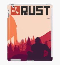 Rust background iPad Case/Skin