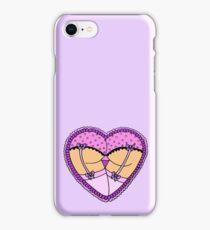 Frilly Heart Butt  iPhone Case/Skin