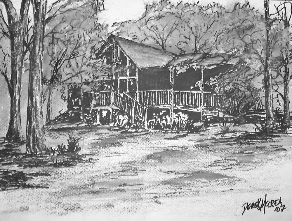 Derrick's Log Cabin by derekmccrea