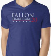 Fallon for President 20 Men's V-Neck T-Shirt
