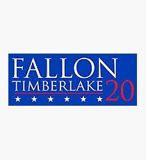 Fallon for President 20 Photographic Print